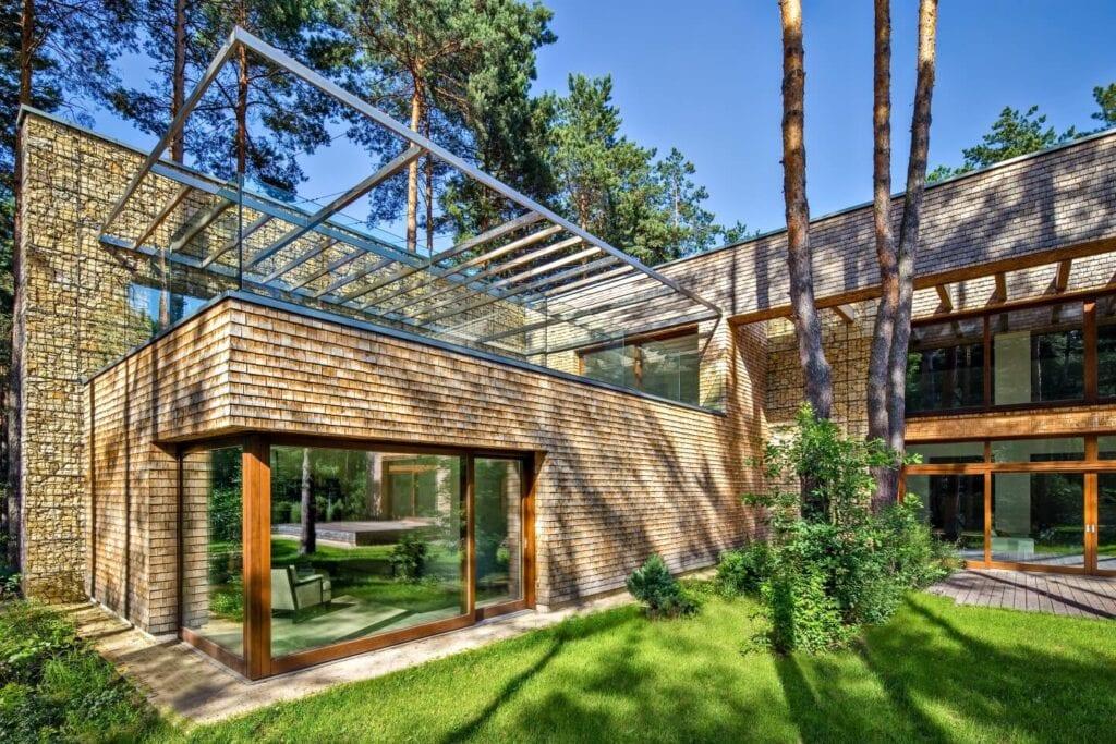 LEŚNA WILLA projektu Biura Architektonicznego Barycz i Saramowicz
