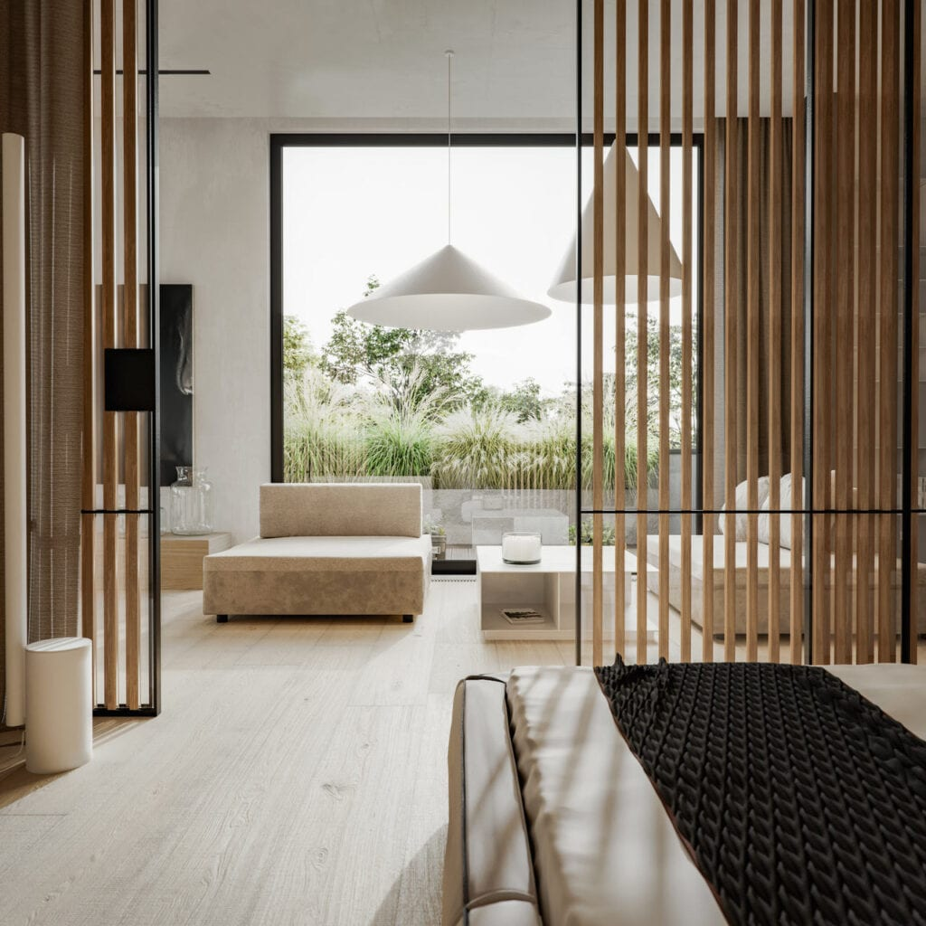 Mała Japonia w sercu Warszawy - apartament projektu Studio. O.