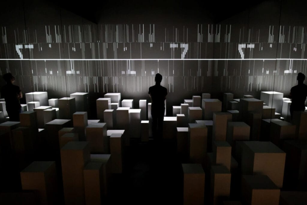 Museo Italiano dell'Audiovisivo e del Cinema projektu NONE Collective - Muzeum w Rzymie - Cristina Vatielli