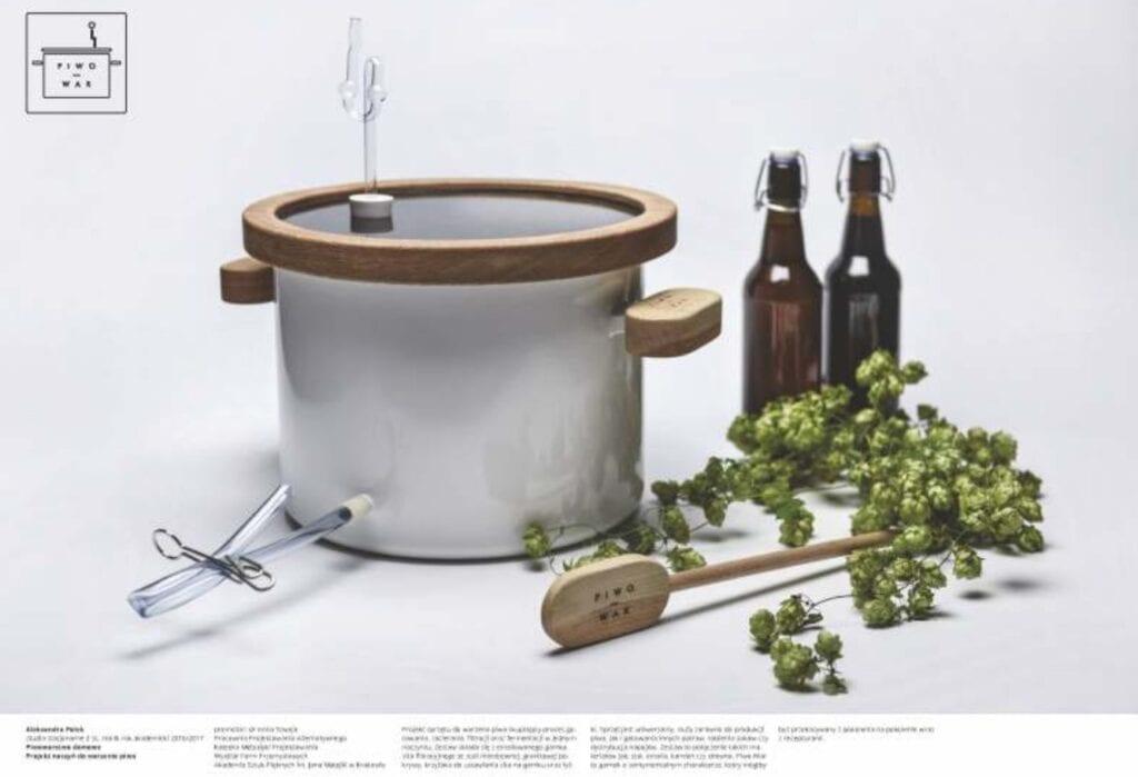 Piwowarstwo domowe – zestaw naczyń dowarzenia piwa w domu - Aleksandra Polek