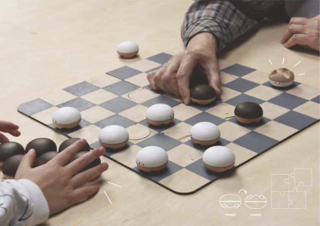 Projekt koncepcyjny gry planszowej – warcaby - Paulina Morawa