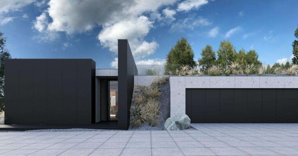 RE: HOUSE IN THE ROCK - dom projektu REFORM Architekt