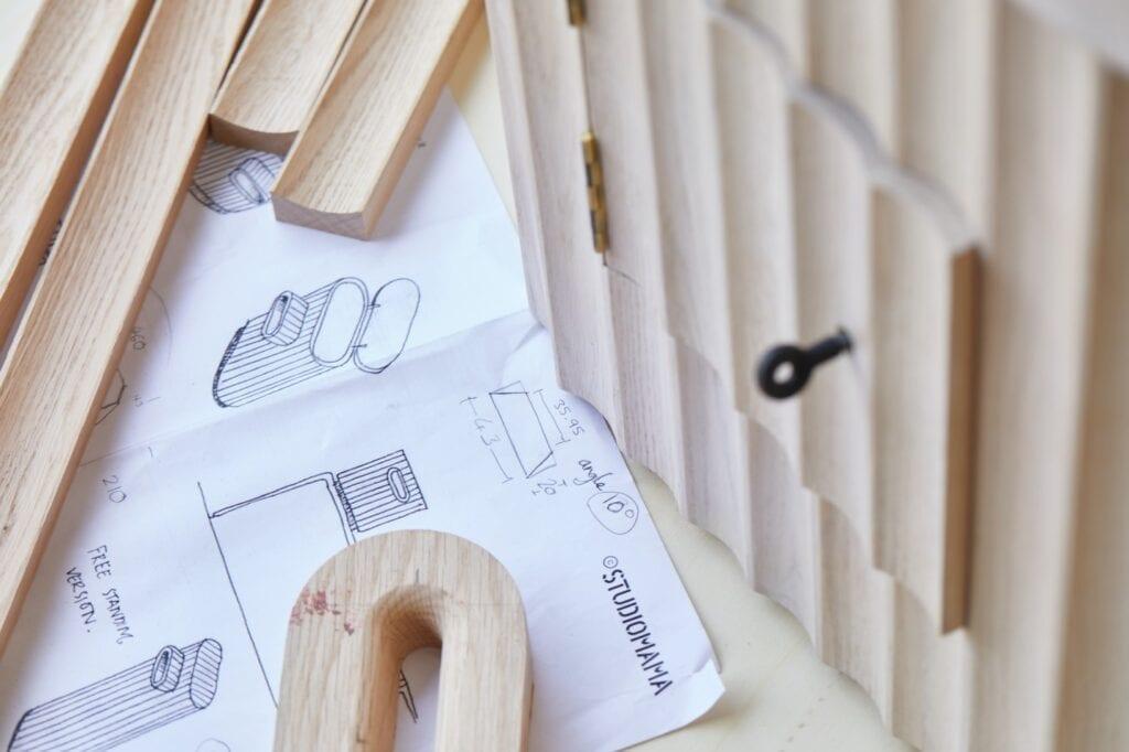 Skrzynki pocztowe projektu Studiomama