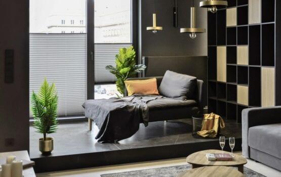 Studio MAUVE i mieszkanie z widokiem na Odrę