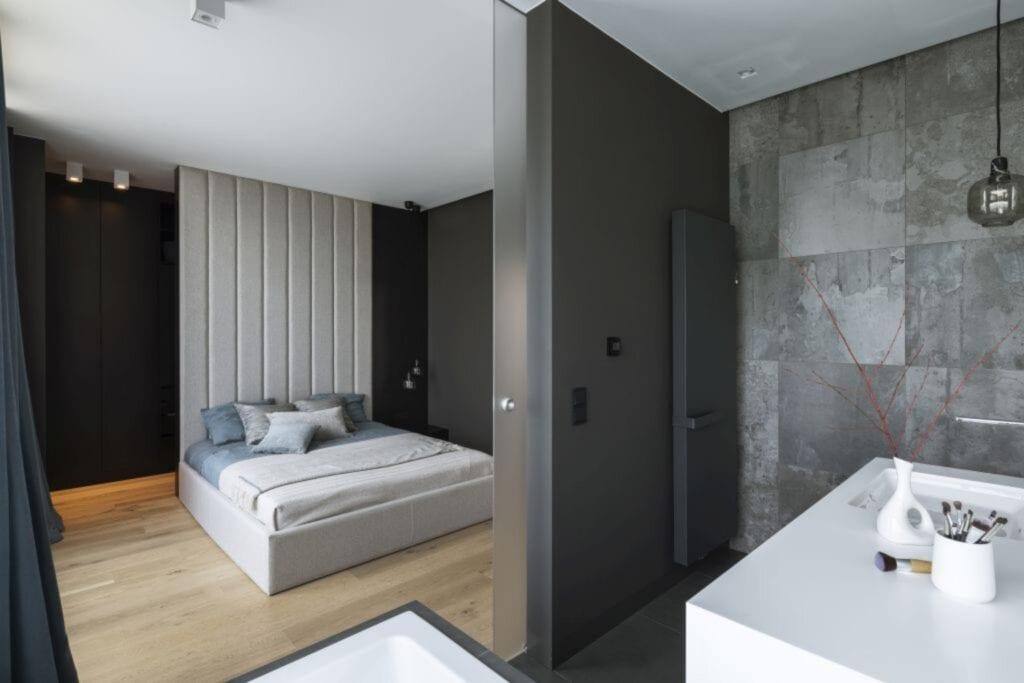 TILLA Architects i nowoczesny apartament w Warszawie - foto Yassen Hristov