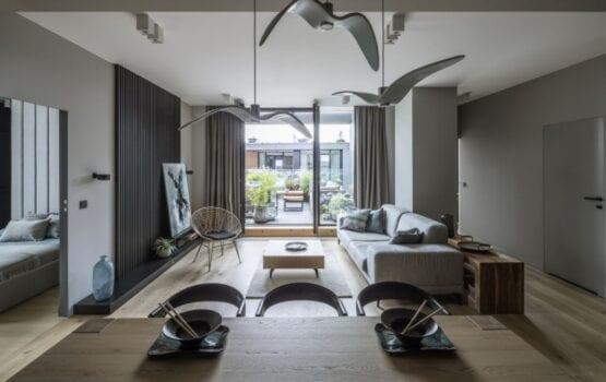 TILLA Architects i nowoczesny apartament w Warszawie