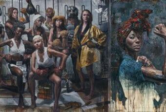 Tim Okamura i olejne obrazy przedstawiające kobiecą siłę