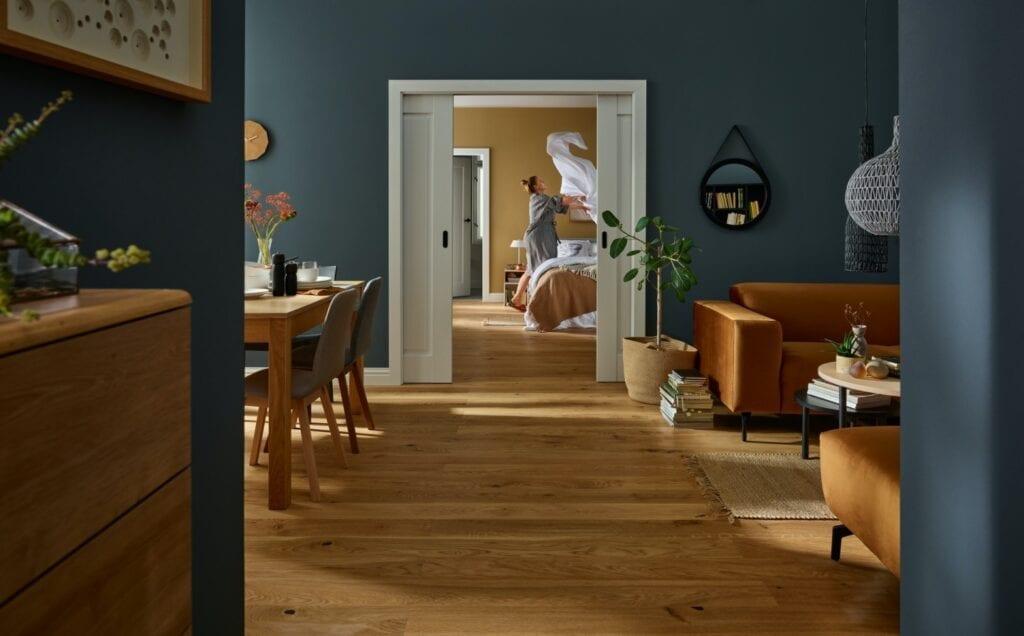 Urządzamy kolorowe wnętrza z VOX - Drzwi przesuwne Fresto