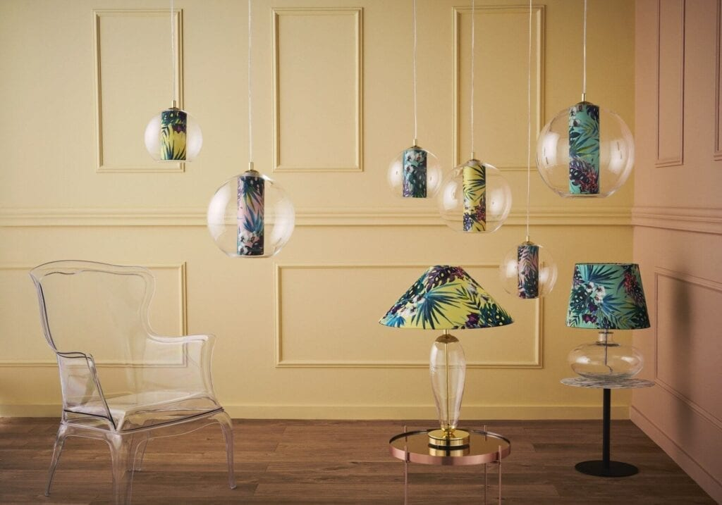 Wiosenna metamorfoza mieszkania - 5 porad od 9design - Kaspa - lampa Feria