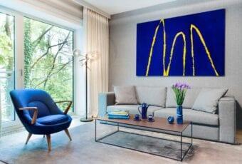 "Wystawa ""Classic Blue"" w DESA Unicum"