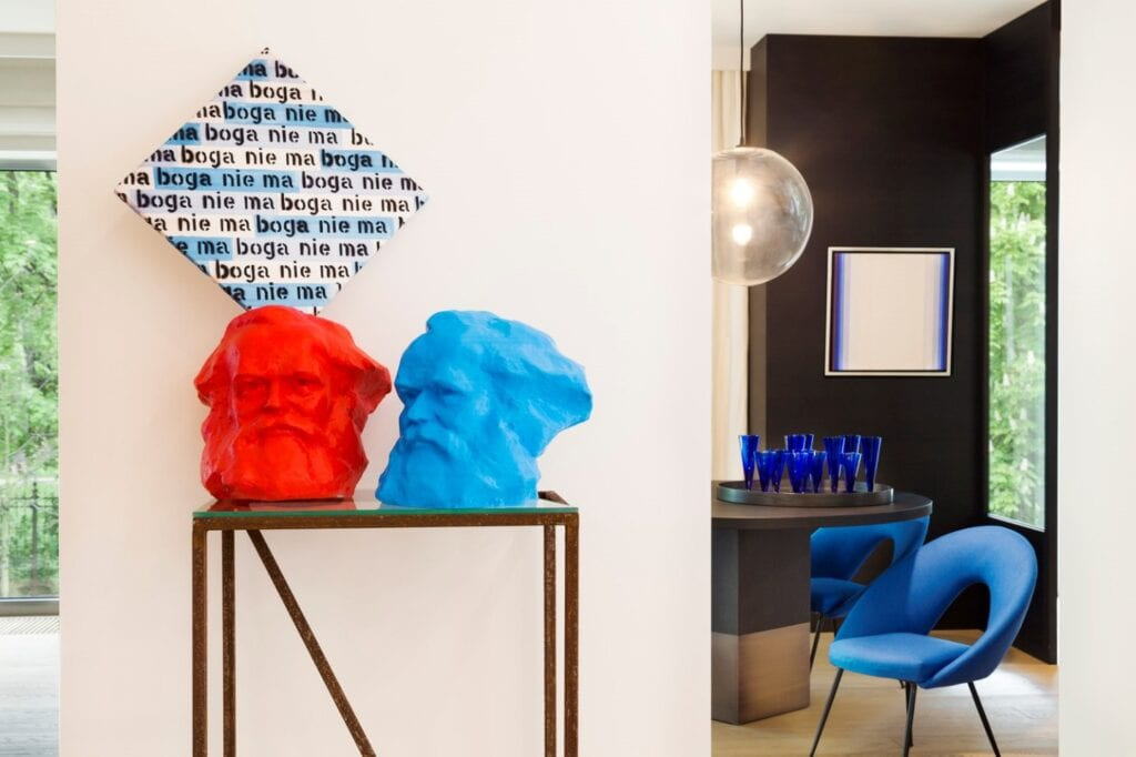 """Wystawa """"Classic Blue"""" w DESA Unicum - zdjęcia Marcin Koniak"""