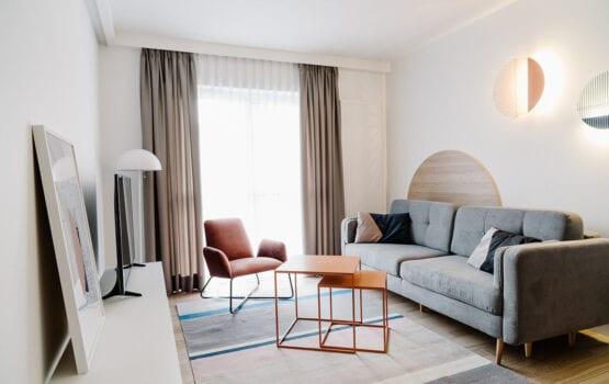 Apartamenty Twins projektu architektów z pracowni Cechownia