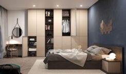 Aranżacja sypialni okiem architektów – z garderobą czy szafą na…