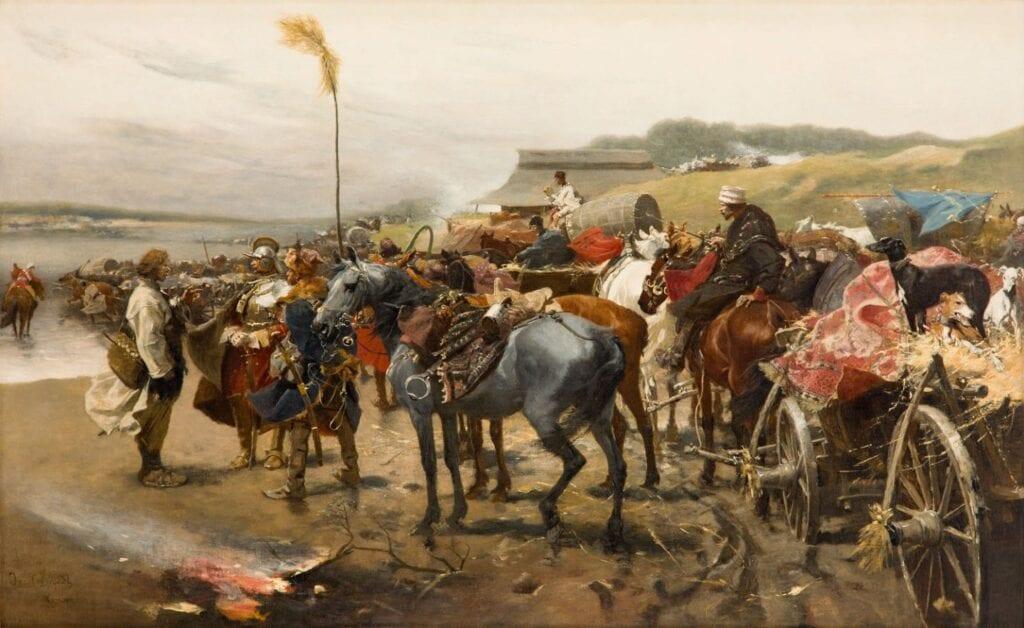 Aukcja Kolekcji Sztuki mBanku w DESA Unicum - Józef Brandt