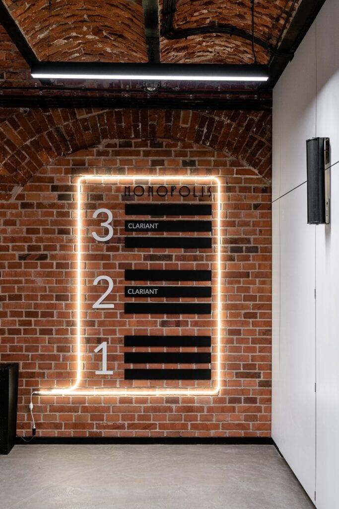 Biuro koncernu Clariant w historycznych murach Monopolis w Łodzi projektu The Design Group - zdjęcia Fotomohito