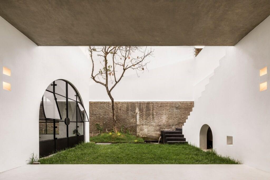 Delfino Lozano i meksykański dom Casa A690 - zdjęcia César Béjar
