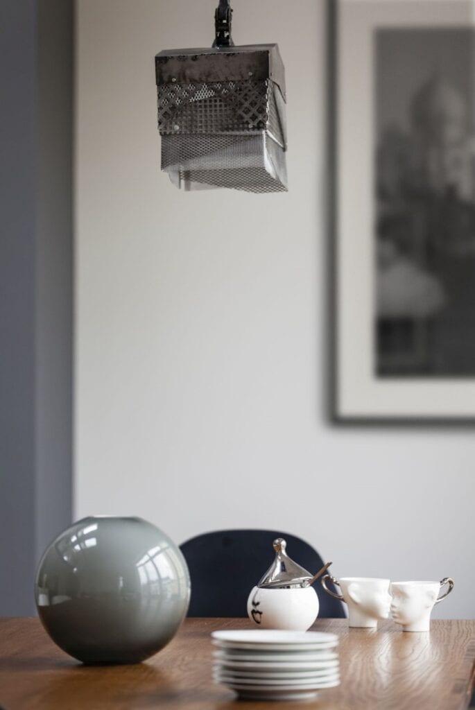 Dwupoziomowe mieszkanie w historycznej części Warszawy - Projekt LOFT Factory - Agata Kasprzyk-Olszewska - zdjęcia Piotr Gęsicki