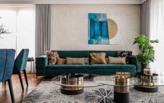 Gdyński apartament projektu pracowni architektonicznej Safranow