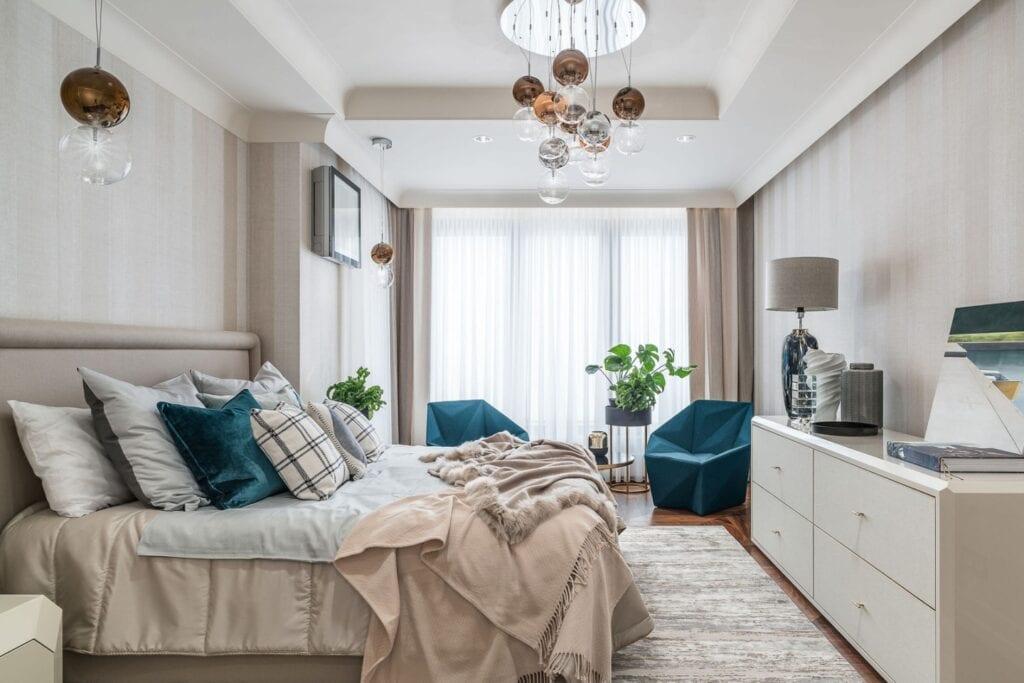 Gdyński apartament projektu pracowni architektonicznej Safranow - Joanna Safranow, Marcin Safranow - zdjęcia Fotomohito
