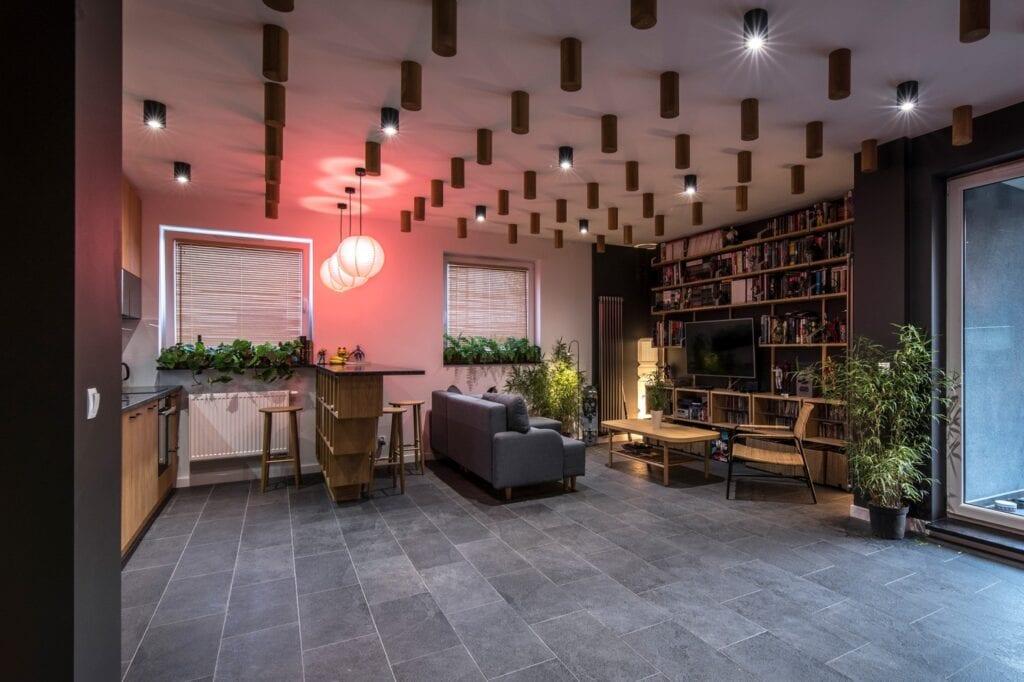 Łukasz Spychaj i projekt wnętrza na poznańskim Grunwaldzie - zdjęcia Typy studio