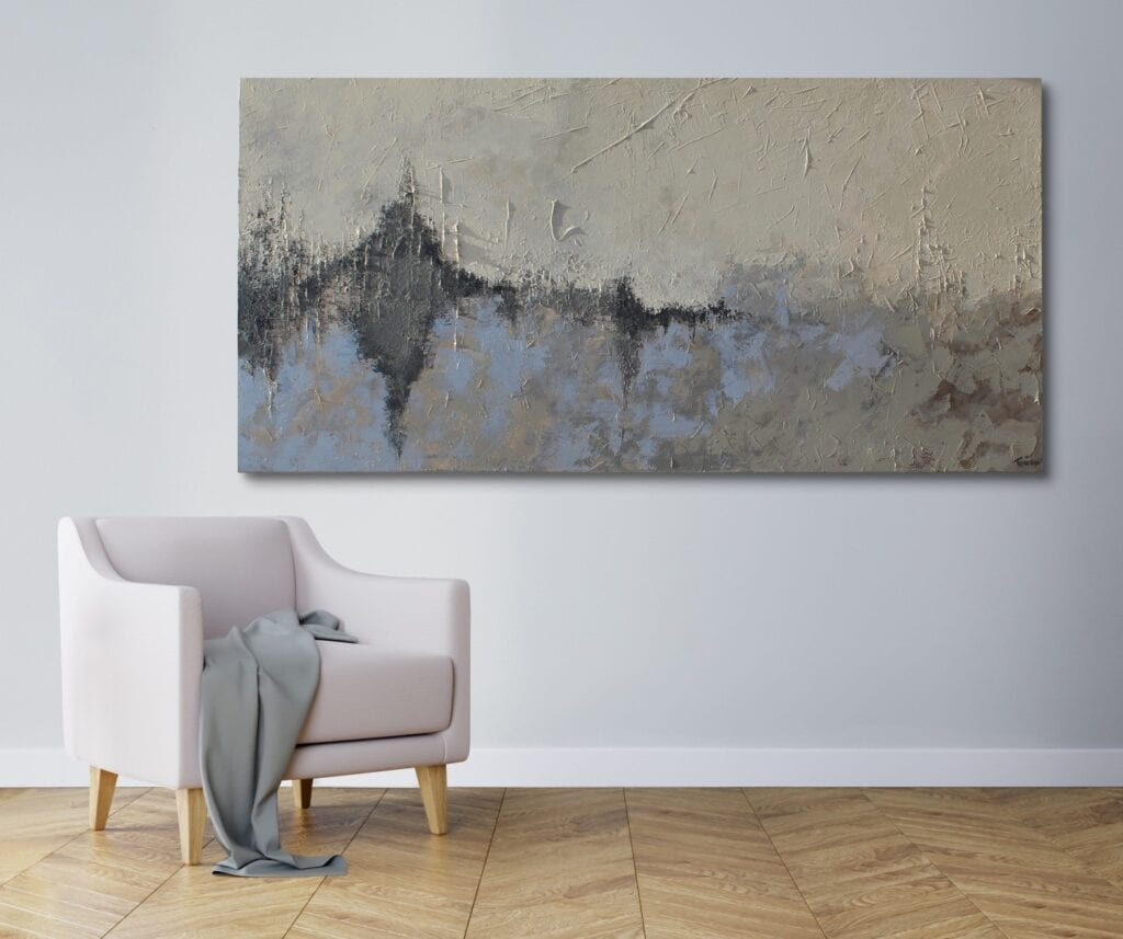 Obrazy z użyciem farb metalicznych - Marta Tańcula Painting