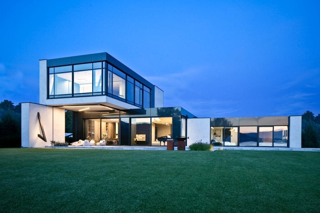 RE: LAKESIDE HOUSE - dom nad jeziorem projektu REFORM Architekt - Marcin Tomaszewski