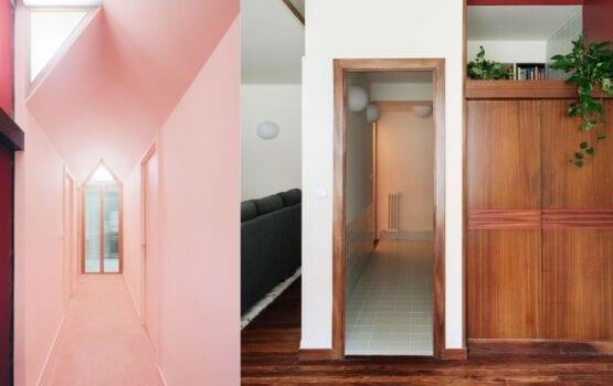 Studio Azab i potęga różu w mieszkaniu w malowniczym Bilbao