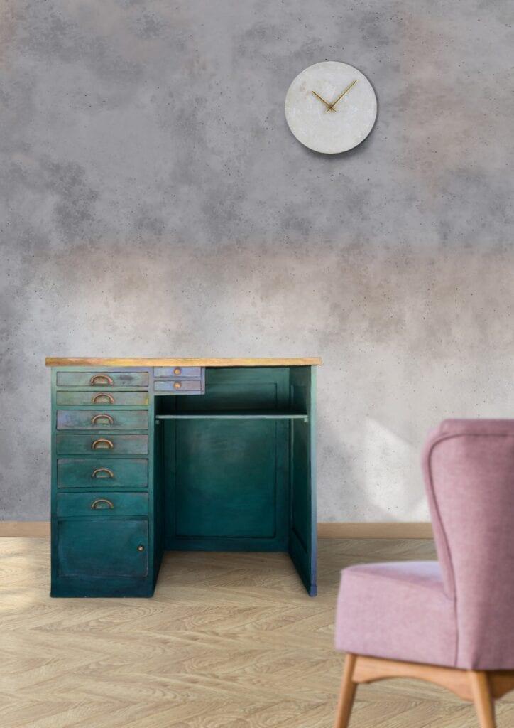 Stylizowane biurko - Marta Tańcula Painting