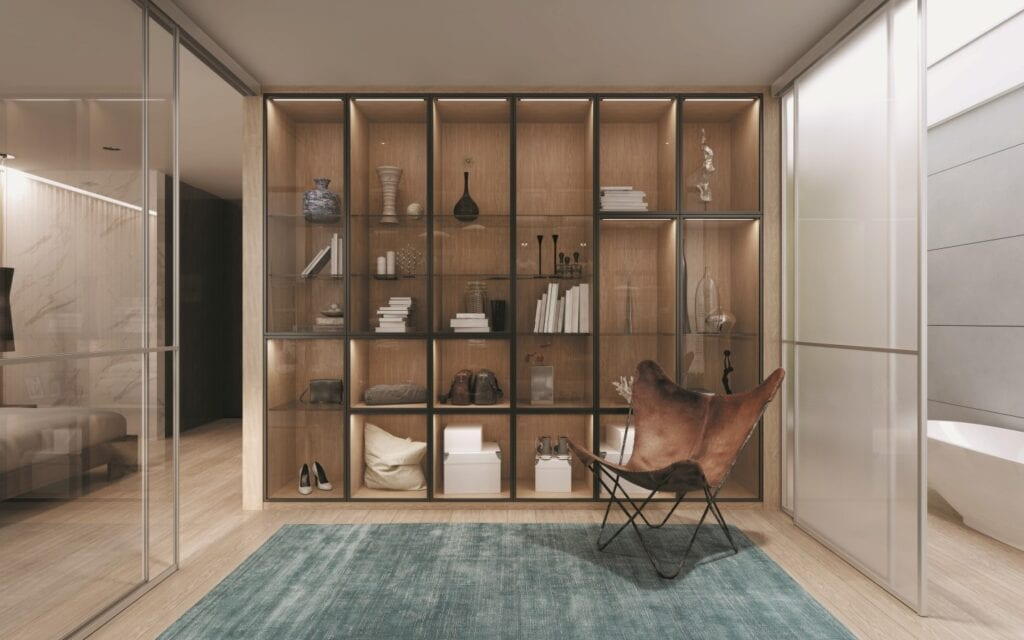 Witryna w pięciu ujęciach – szklane gabloty do każdego pomieszczenia