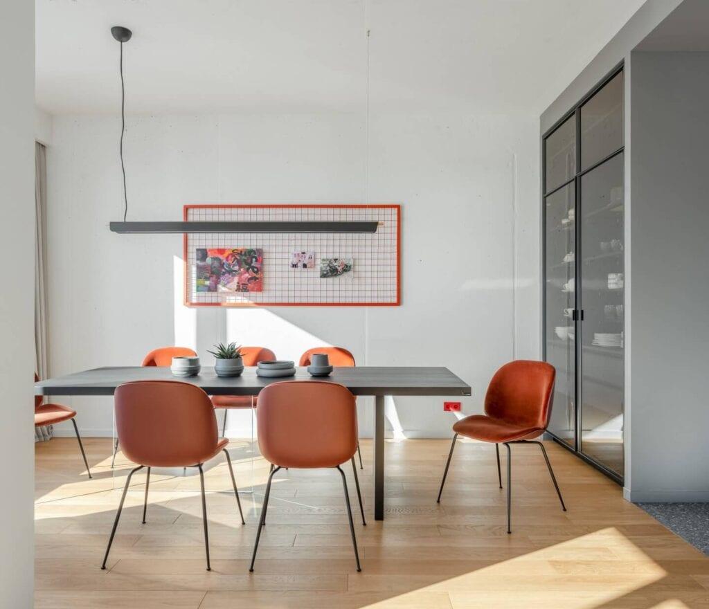 Bogdanova Bureau i projekt apartamentu w Kijowie - Olga Bogdanova, Lena Bryantseva - zdjęcia Yevhenii Avramenko
