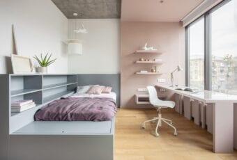 Bogdanova Bureau i projekt apartamentu w Kijowie