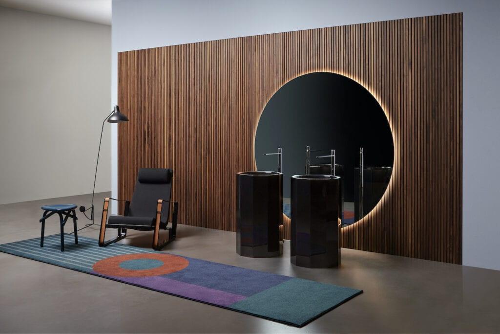Cristalmood - salon kąpielowy nie boi się koloru - Antonio Lupi