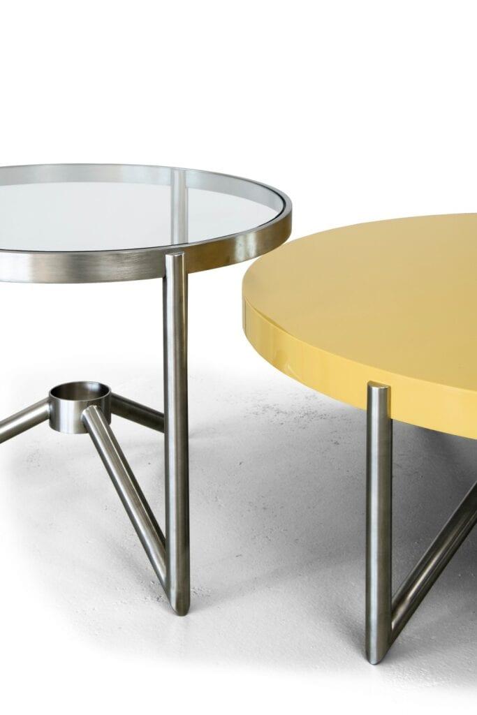 Funkcjonalny stolik do salonu od marki Bozzetti - stolik Crcl1