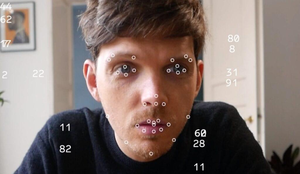 'Kolekcjoner Emocji' z wystawy Dane to emocje. Emocje to dane, fot. Ivy Go