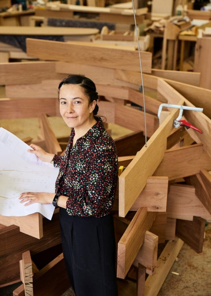 Juliet Quintero i projekt Gniazdo / The Nest