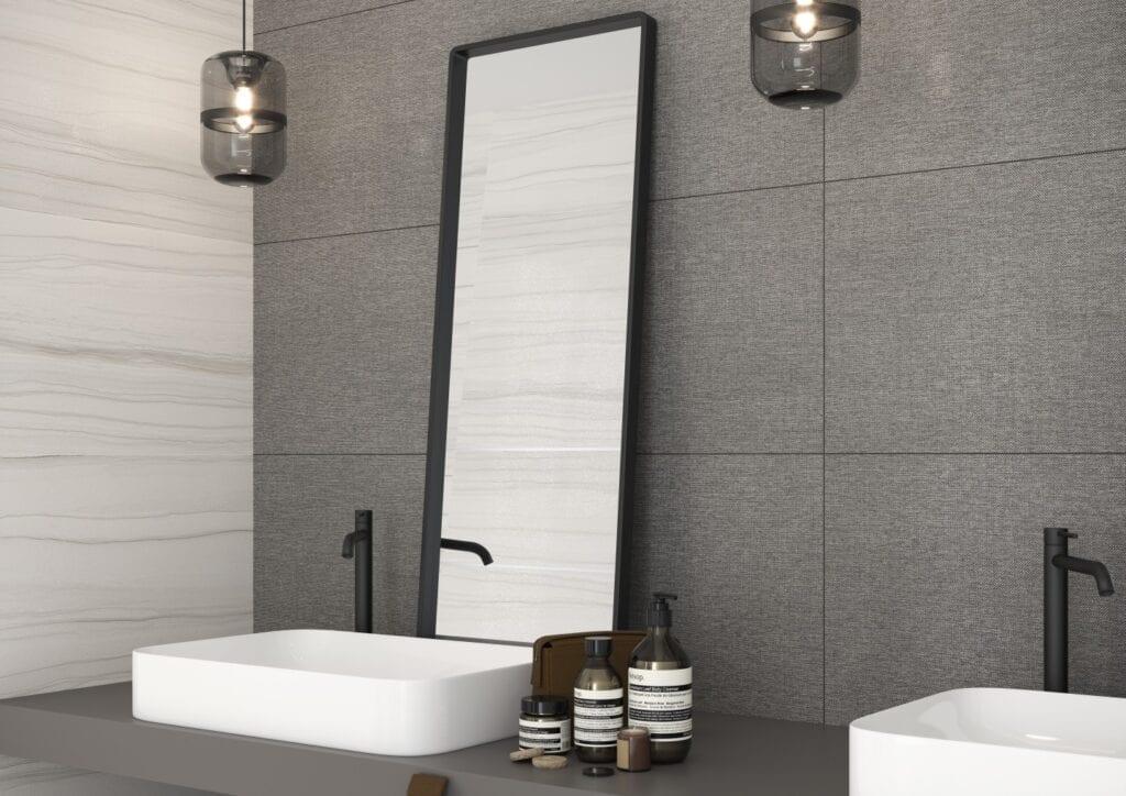 Łazienka w stylu glamour - porady od marki Cersanit - Maratona