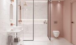 Łazienka w stylu glamour – porady od marki Cersanit
