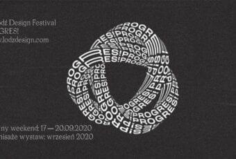 Łódź Design Festival 2020 – czas na PROGRES!