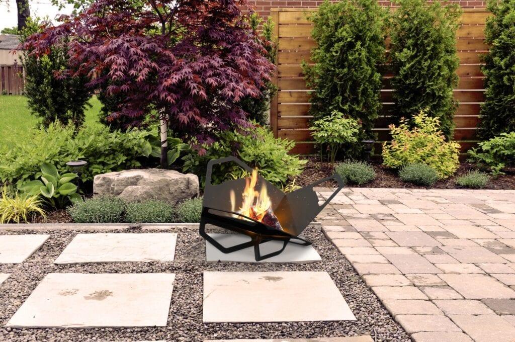 Palenisko ogrodowe - niezwykła dekoracja z ogniem w roli głównej
