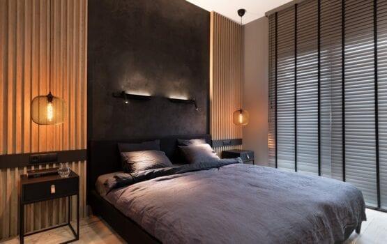 Pencil black apartament projektu pracowni 2form