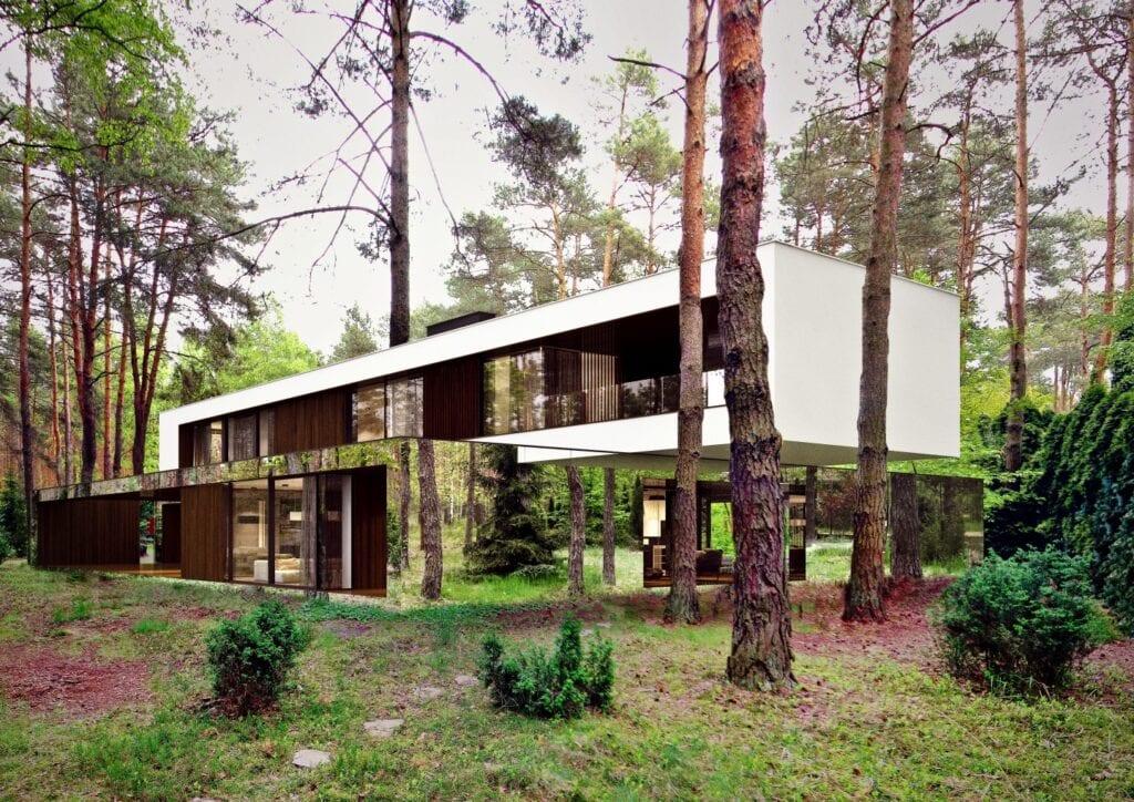 Lustrzane domy od REFORM Architekt - Marcin Tomaszewski