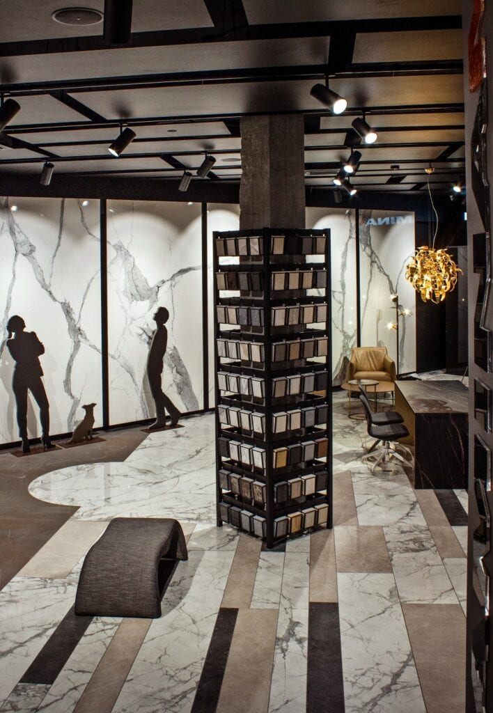 Ultranowoczesny showroom włoskiej marki Laminam w Gdyni