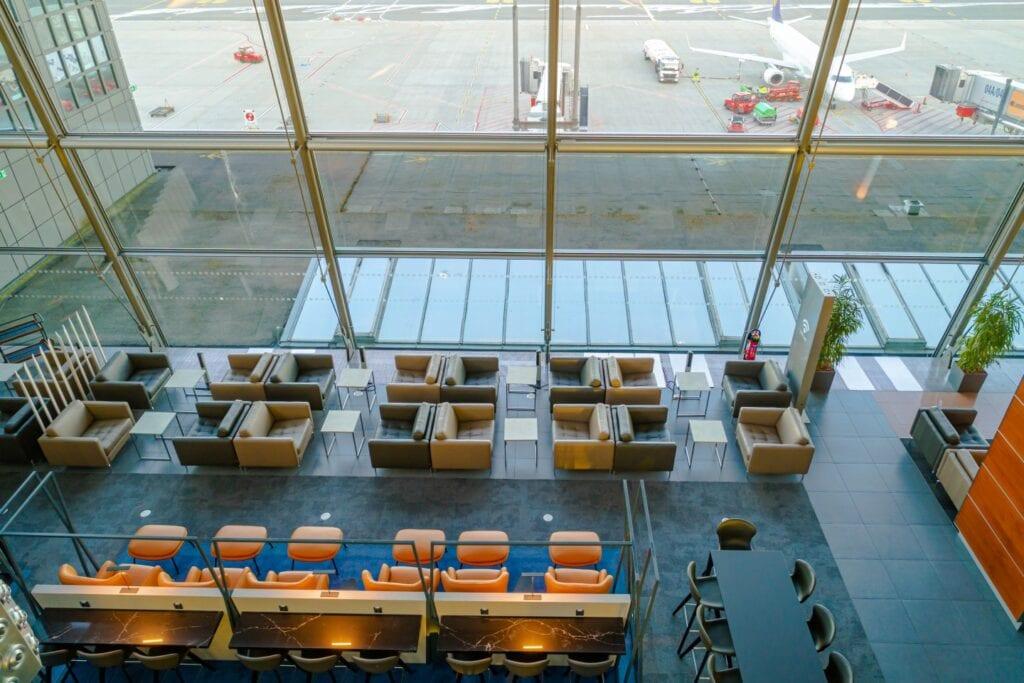 VIP Lounge stworzony przez BoConcept Business - BoConcept Hamburg am Fischmarkt - Lotnisko w Hamburgu