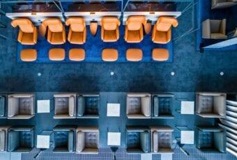 VIP Lounge stworzony przez BoConcept Business