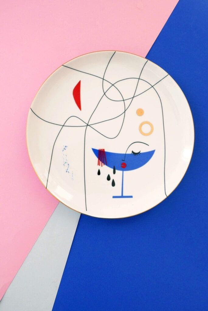 Wall-Being x Look At Me Plates - nowe spojrzenie na galerię ścienną - Magda Pilaczyńska