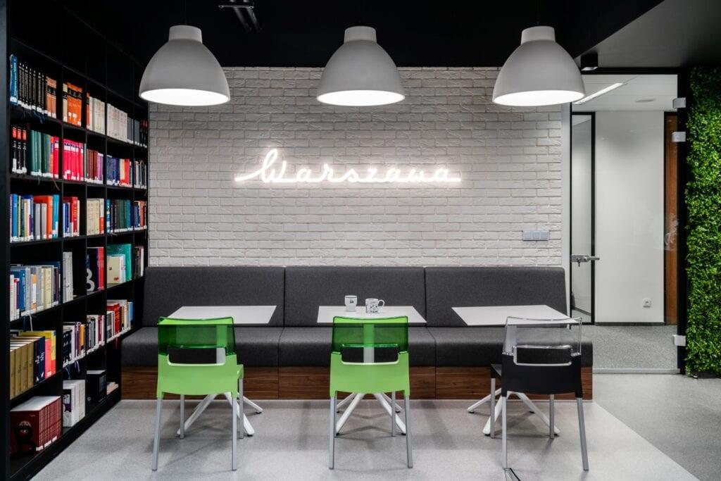 Wnętrze biura firmy Noerr projektu BIT CREATIVE - zdjęcia Fotomohito
