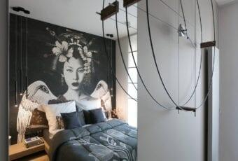 Miłość do Japonii i piękne mieszkanie w Krakowie