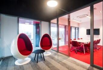 Biuro Techland – przestrzeń dla wymagających odbiorców