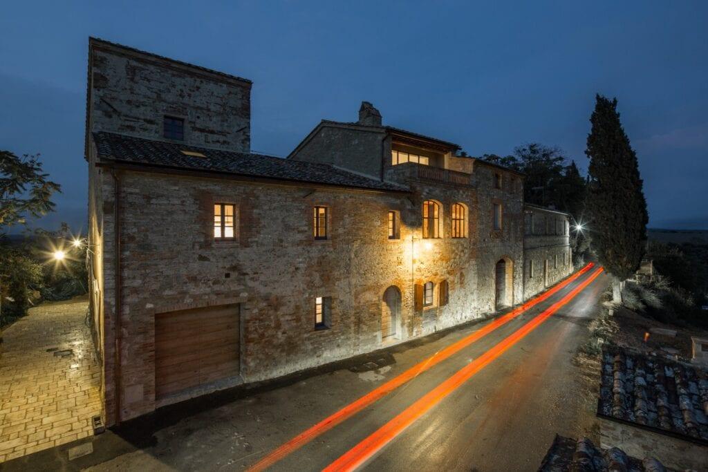 Ciclostile Architettura i projekt Podere Navigliano - zdjęcia Fabio Mantovani