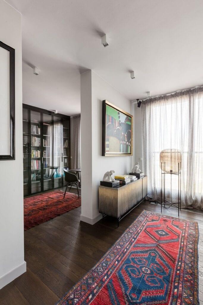 Dmowska Design i 135-metrowy apartament na warszawskiej Woli - projekt Patrycja Dmowska - zdjęcia Przemysław Kuciński